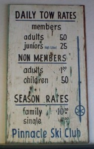 The old ski rates