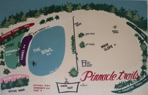 Pinnacle map.