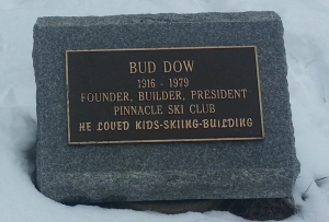 Bud Dow Plaque at the Pinnacle